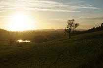 River Severn and farmland, Shropshire - John Harris - 04-12-2016