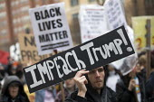 Impeach Trump! Anti Trump protests on Inauguration Day as Donald Trump takes office as President of USA, Washington DC - Jess Hurd - 20-01-2017