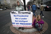 Anti Trump protests on Inauguration Day as Donald Trump takes office as President of USA, Washington DC - Jess Hurd - 20-01-2017