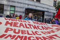 San Francisco, California, USA protest at the inauguration of Donald Trump as President - David Bacon - 20-01-2017