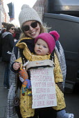 London Women's March against the Presidency of Donald Trump - Stefano Cagnoni - 2010s,2017,activist,activists,adult,adults,against,babies,baby,CAMPAIGN,campaigner,campaigners,CAMPAIGNING,CAMPAIGNS,CHILD,CHILDHOOD,CHILDREN,cities,City,DEMONSTRATING,demonstration,DEMONSTRATIONS,Don