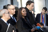 Gina Miller outside the Supreme Court which ruled that the Prime Minister must seek the permission of MPs before she can trigger Brexit Article 50, Westminster, London. - Jess Hurd - 2010s,2017,Article 50,BAME,BAMEs,barrister,barristers,black,BME,bmes,Brexit,campaign,campaigning,CAMPAIGNS,choice,choosing,CLJ,court,court case,courts,Crime,deciding,decisions,democracy,diversity,ethn