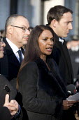 Gina Miller outside the Supreme Court which ruled that the Prime Minister must seek the permission of MPs before she can trigger Brexit Article 50, Westminster, London. - Jess Hurd - 24-01-2017