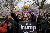 Stop Trump's Muslim Ban, STW protest from US Embassy to Downing Street, Westminster, London - Jess Hurd - 04-02-2017