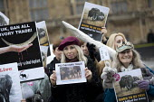 Protest for full ban on the ivory trade as it is debated in Parliament, Westminster, London - Jess Hurd - 06-02-2017