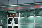 Accident & Emergency entrance to University College London Hospital. - Philip Wolmuth - 03-02-2017