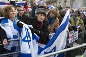 Zionist Federation welcomes Israeli PM Netanyahu visit to Downing Street London. - Philip Wolmuth - 2010s,2017,activist,activists,against,anti,Benjamin Netanyahu,CAMPAIGN,campaigner,campaigners,CAMPAIGNING,CAMPAIGNS,DEMONSTRATING,demonstration,DEMONSTRATIONS,Downing Street,FEMALE,flag,flags,Israel,I