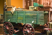 Cincinnati, Ohio: Wagon owned by underground railroad conductor Levi Coffin, had a false bottom to hide escaping slaves. The National Underground Railroad Freedom Center museum of the history of slave... - Jim West - 2010s,2017,ACE,African American,African American Heritage Trail,African Americans,America,BAME,BAMEs,bigotry,black,BME,bmes,bondage,casket,centre,Cincinnati,civil rights,Coffin,concealed,conductor,con