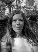 Judith Todd, London 1972. Daughter of Garfield Todd, political activist in Rhodesia, she opposed the government of Ian Smith and later became a strong critic of Robert Mugabe in Zimbabwe - Martin Mayer - 14-07-1972