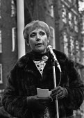 1975 Australian constitutional crisis, actress Miriam Karlin, Australian Labor Party protest, London, opposing the dismissal of the Labor Party government of Gough Whitlam by Governor General Sir John... - Martin Mayer - 1970s,1975,activist,activists,actress,actresses,Australian Labor Party,CAMPAIGN,campaigner,campaigners,CAMPAIGNING,CAMPAIGNS,crisis,DEMONSTRATING,Demonstration,DEMONSTRATIONS,dismissal,FEMALE,Gough Wh