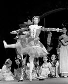 Christine Hutchinson as Columbine and Jeffrey Kovel as Harlequin. The Nutcracker by Tchaikovsky performed at the Royal Festival Hall London 1963 - Alex Low - 24-01-1963