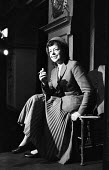 Theatre Workshop Director Joan Littlewood, rehearsal of Fings Ain't What They Used To Be, Theatre Royal Stratford East London 1959 - Alan Vines - 04-02-1959
