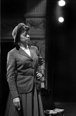 Theatre Workshop Director Joan Littlewood, rehearsal of Fings Aint What They Used To Be, Theatre Royal Stratford East London 1959 - Alan Vines - 04-02-1959