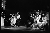 Theatre Workshop production of Oh What A Lovely War! directed by Joan Littlewood at Theatre Royal Stratford East 1963 - Romano Cagnoni - 1960s,1963,ACE,act,acting,actor,actors,Arts,cities,city,Culture,drama,DRAMATIC,Epic theatre,maker,makers,making,male,man,men,musical,Oh What A Lovely War,people,person,persons,play,PLAYING,plays,produ