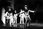 Theatre Workshop production of Oh What A Lovely War! directed by Joan Littlewood at Theatre Royal Stratford East 1963 with Murray Melvin (R) and Victor Spinetti - Romano Cagnoni - 19-03-1963