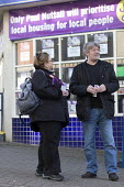 Canvassing for Paul Nuttall UKIP, By Election, Stoke on Trent Central, Staffordshire - John Harris - 2010s,2017,Brexit,by election,campaign,campaigning,CAMPAIGNS,CANVASING,canvassing,cities,city,DEMOCRACY,election,elections,eurosceptic,Euroscepticism,eurosceptics,FEMALE,male,man,men,Paul Nuttall,pede