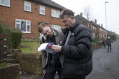 Gareth Snell, Labour Party canvassing, Bentilee, Stoke on Trent Central, Staffordshire - John Harris - 18-02-2017