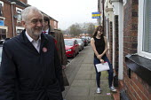 Gareth Snell and Jeremy Corbyn MP, Labour Party canvassing, Cauldon, Stoke on Trent Central, Staffordshire - John Harris - 2010s,2017,7,by election,campaign,campaigning,CAMPAIGNS,candidate,candidates,CANVASING,canvassing,cities,City,communicating,communication,conversation,conversations,DEMOCRACY,dialogue,discourse,discus