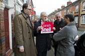 Gareth Snell and Jeremy Corbyn MP, Labour Party canvassing, Cauldon, Stoke on Trent Central, Staffordshire - John Harris - 2010s,2017,7,Asian,Asians,BAME,BAMEs,Black,Black and White,BME,bmes,by election,campaign,campaigning,CAMPAIGNS,candidate,candidates,CANVASING,canvassing,choice,choosing,cities,City,communicating,commu