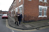 Gareth Snell and Jeremy Corbyn MP, Labour Party canvassing, Cauldon, Stoke on Trent Central, Staffordshire - John Harris - 2010s,2017,by election,campaign,campaigning,CAMPAIGNS,candidate,candidates,CANVASING,canvassing,cities,City,communicating,communication,conversation,conversations,DEMOCRACY,dialogue,discourse,discuss,