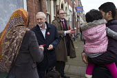 Gareth Snell and Jeremy Corbyn MP, Labour Party canvassing, Cauldon, Stoke on Trent Central, Staffordshire - John Harris - 2010s,2017,7,Asian,Asians,BAME,BAMEs,Black,Black and White,BME,bmes,by election,campaign,campaigning,CAMPAIGNS,candidate,candidates,CANVASING,canvassing,child,CHILDHOOD,children,cities,City,communicat