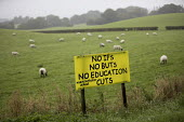 No Ifs No Buts No Education Cuts, Save Llanbister Community Primary School, Powys, Wales - Jess Hurd - 23-09-2016