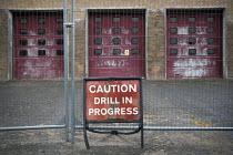 Closed fire station, Powys, Wales - Jess Hurd - 25-09-2016