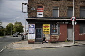 Queens Head closed pub, Dingle, Liverpool - Jess Hurd - 2010s,2016,abandoned,adolescence,adolescent,adolescents,building,buildings,cities,City,closed,closing,closure,closures,derelict,DERELICTION,Dingle,DOWNTURN,EBF,Economic,Economy,excluded,exclusion,HARD