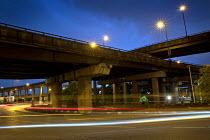 Spaghetti Junction at night, Birmingham - Jess Hurd - 2010s,2016,Birmingham,cities,City,EBF,Economic,Economy,highway,infrastructure,M6,motorway,MOTORWAYS,network,night,night time,road,Road Transport,roads,scene,scenes,Spaghetti,Spaghetti Junction,street,