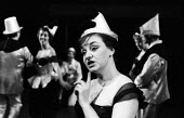 Actor Avis Bunnage in Theatre Workshop production of Oh What A Lovely War! directed by Joan Littlewood at Theatre Royal Stratford East 1963 - Romano Cagnoni - 1960s,1963,ACE,acting,actor,actors,actress,actresses,Arts,Avis Bunnage,cities,city,Culture,drama,DRAMATIC,FEMALE,maker,makers,making,musical,Oh What A Lovely War,people,person,persons,play,PLAYING,pla