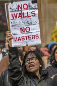California, USA. Protest against detention and deporting of immigrants - David Bacon - 21-02-2017