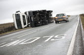 Storm Doris overturns high sided vehicles on a high pass nr Flash in the Peak District National Park, Staffordshire. - Jess Hurd - gales.gale force,2010s,2017,accident,accidental,accidents,accidents at work,AUTO,AUTOMOBILE,AUTOMOBILES,AUTOMOTIVE,car,cars,CLIMATE,conditions,crash,crashed,damage,damaged,danger,dangerous,dangers,DIA