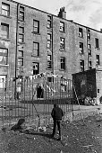 Youth and Housing, Glasgow tenements 1975 - Peter Arkell - 1970s,1975,adolescence,adolescent,adolescents,boy,boys,Broken Glass,child,CHILDHOOD,children,excluded,exclusion,Glasgow,Glasgow slums,Glasgow tenements,HARDSHIP,Housing,Housing Estate,impoverished,imp