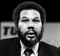 Lionel Morrison NUJ speaking, TUC Blackpool 1987 - John Harris - 08-09-1987