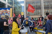 Make Some Noise For Orgreave protest at Home Office calling for public inquiry into policing at Orgreave during the MIners Strike and release of all state documents relating to the dispute - Stefano Cagnoni - 13-03-2017