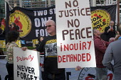 Make Some Noise For Orgreave protest at Home Office calling for public inquiry into policing at Orgreave during the MIners Strike and release of all state documents relating to the dispute Labour MPs... - Stefano Cagnoni - 13-03-2017