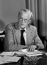 Peter Pears, tenor singer, partner of Benjamin Britten and interpreter of his work at the reading of Britten's will, 1977 - NLA - 05-09-1977
