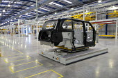 Prototype TX5 production. London Taxi Company opening a new car factory to make TX5 electric Black Cab taxis, Ansty, Coventry. LTC is owned by Chinese car maker Geely - John Harris - 22-03-2017