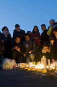 Candlelit London Vigil Trafalgar Square in solidarity with the victims of the Westminster terrorist attack - Stefano Cagnoni - 23-03-2017