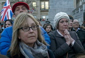 London Vigil Trafalgar Square in solidarity with the victims of the Westminster terrorist attack Londoners hold a minutes silence in memory of those who lost their lives - Stefano Cagnoni - 23-03-2017