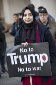 Unity Vigil Against Hatred and Division in response to the Westminster attacks called by Stand Up to Racism, Birmingham. Not to Trump No to War - Jess Hurd - 24-03-2017