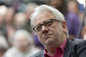 Jon Lansman, Momentum Inaugural Conference, Birmingham - John Harris - 2010s,2017,activist,activists,Birmingham,CAMPAIGN,campaigner,campaigners,CAMPAIGNING,CAMPAIGNS,Conference,conferences,Labour Party,Left,left wing,Leftwing,male,man,men,Momentum,people,person,persons,P