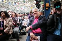 Jon Lansman, Momentum Inaugural Conference, Birmingham - John Harris - 2010s,2017,activist,activists,BAME,BAMEs,Birmingham,Black,Black and White,BME,bmes,CAMPAIGN,campaigner,campaigners,CAMPAIGNING,CAMPAIGNS,Conference,conferences,diversity,ethnic,ethnicity,Labour Party,