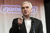 John McDonnell speaking, Momentum Inaugural Conference, Birmingham - John Harris - 2010s,2017,Birmingham,Conference,conferences,John McDonnell,Labour Party,Left,left wing,Leftwing,male,man,men,Momentum,MP,MPs,people,person,persons,POL,political,politician,politicians,Politics,social