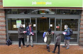 National Day of Action Against Sanctions. Leafleting claimants outside Cheylesmore Jobcentre Coventry. Unite Community say 100,000 claimants have have had their benefits suddenly stopped by sanctions... - John Harris - 2010s,2017,Against,agency,Austerity Cuts,benefit,Benefit cuts,benefit office,benefits,BENIFIT,BENIFITS,campaign,campaigning,CAMPAIGNS,centre,centres,cities,city,claimant,claimants,communities,Communit