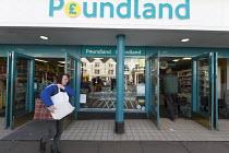Poundland shop, Stratford upon Avon, Warwickshire - John Harris - 30-03-2017