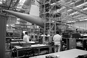 Assembling Concorde for BOAC, BAC Filton factory, Bristol - Peter Arkell - 29-03-1974