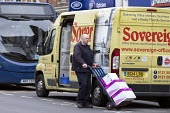 Office supplies delivery, Stratford-upon-Avon, Warwickshire - John Harris - 2010s,2017,cart,carts,deliveries,delivering,delivery,distributing,distribution,driver,drivers,driving,EARNINGS,EBF,Economic,Economy,employee,employees,Employment,Income,inequality,job,jobs,LBR,living