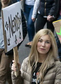 March For Science, London. International protest on Earth Day against global political questioning of facts and for protection of the environment - Stefano Cagnoni - 2010s,2017,activist,activists,against,CAMPAIGN,campaigner,campaigners,CAMPAIGNING,CAMPAIGNS,DEMONSTRATING,demonstration,DEMONSTRATIONS,environment,FEMALE,March for Science,nerd,nerds,people,person,per
