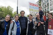 Actor Peter Capaldi, Dr Who in television series. March For Science, London. International protest on Earth Day against global political questioning of facts and for protection of the environment - Stefano Cagnoni - 2010s,2017,ACTING,activist,activists,Actor,ACTORS,against,CAMPAIGN,campaigner,campaigners,CAMPAIGNING,CAMPAIGNS,Capaldi,communicating,communication,DEMONSTRATING,demonstration,DEMONSTRATIONS,Dr Who,en